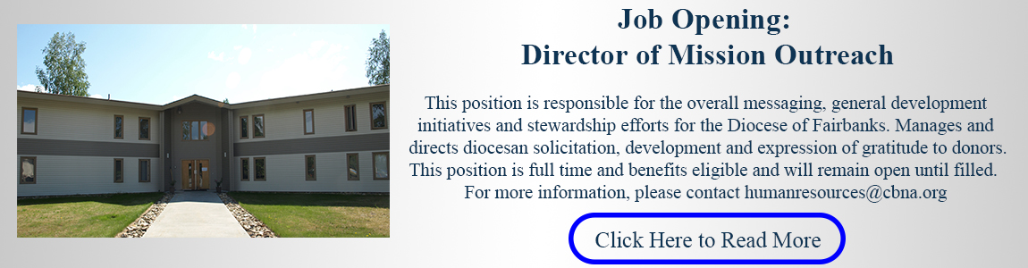 Job Opening: Director of Mission Outreach
